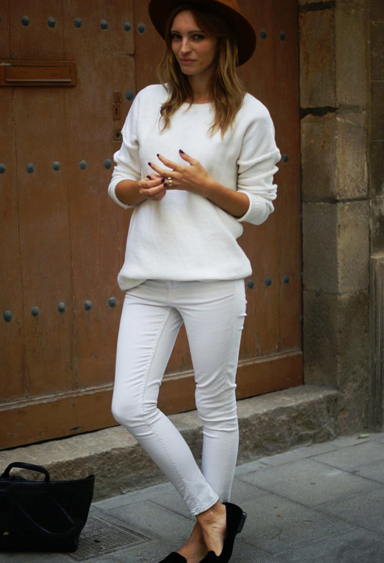All-White-Combination-Ideas-for-Stylish-Spring-Looks-Hat
