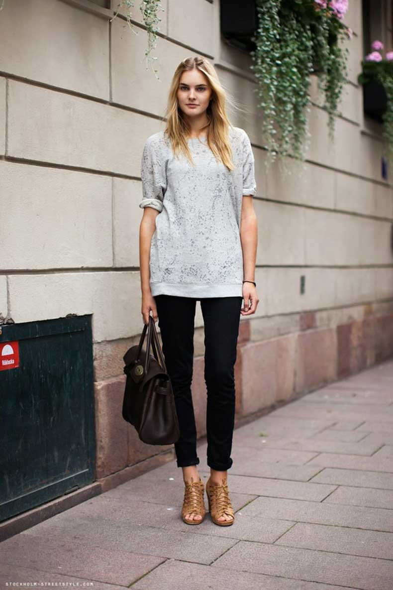 loose-shirt-and-black-skinny-jeans