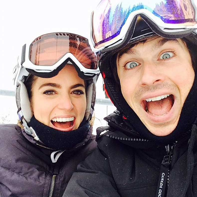 Nikki-Reed-her-fiancé-Ian-Somerhalder-stay-fit-hitting