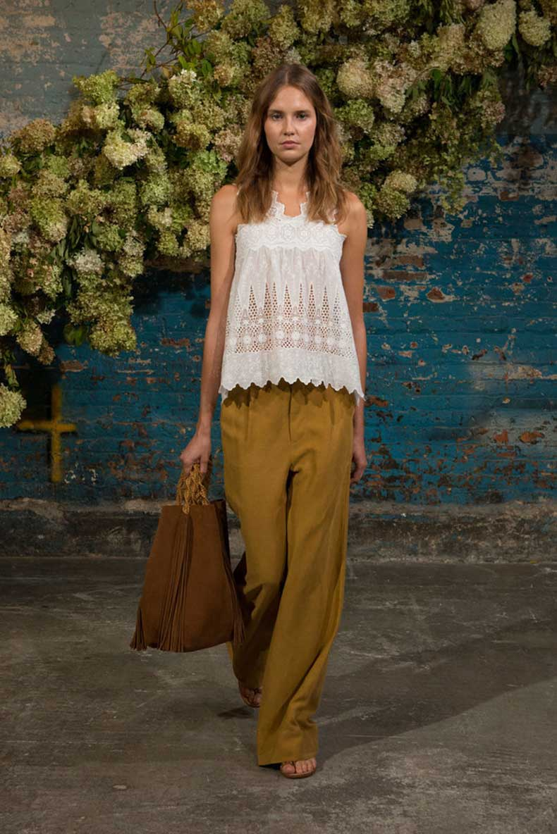 lacy-top-understated-trousers