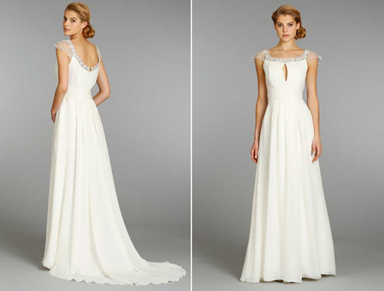 Encuentra el vestido de novia perfecto para tu figura for Wedding dresses for big chest