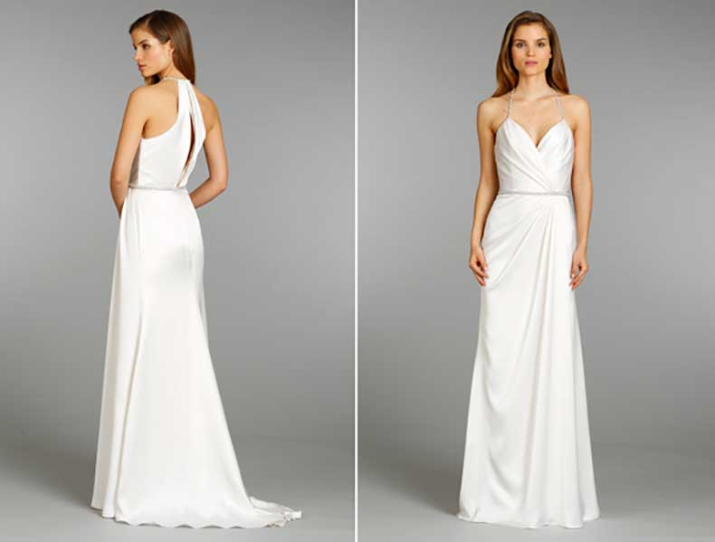 Encuentra el vestido de novia perfecto para tu figura for Wedding dress for flat chest