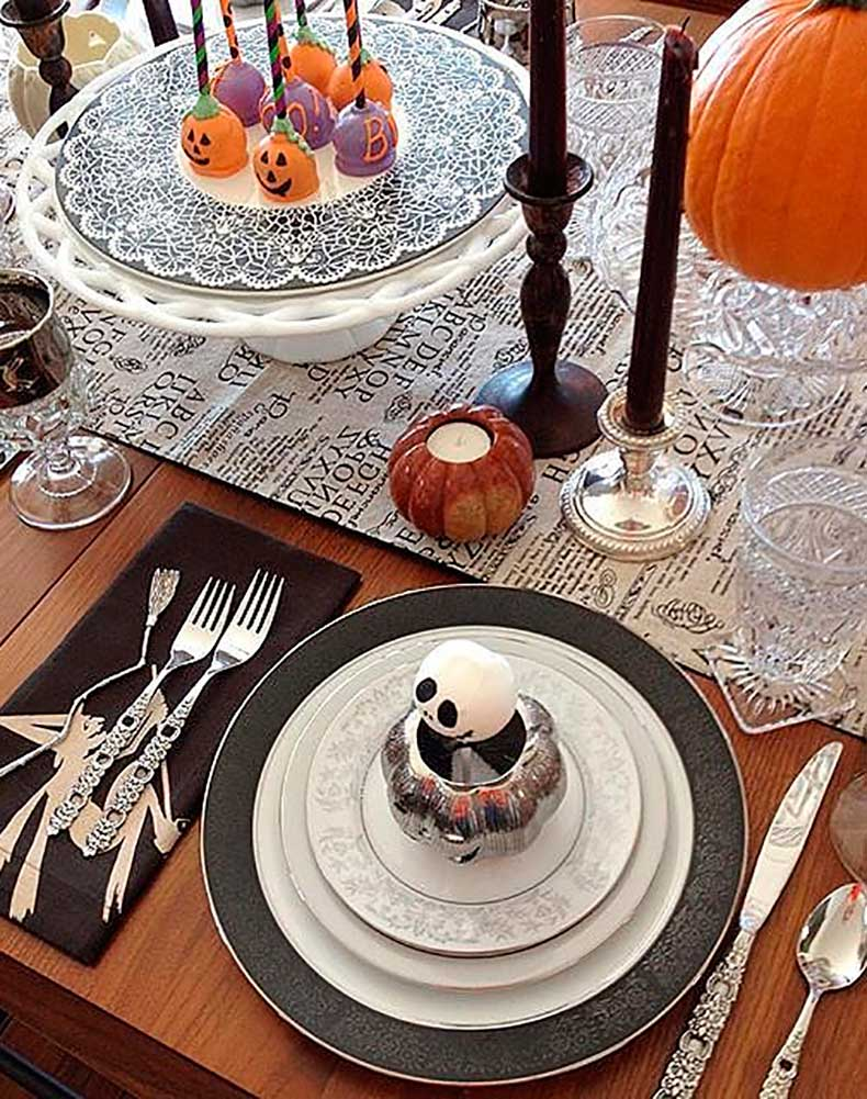 Mixed-matched-Halloween-decor-looks-eclectic-welcoming