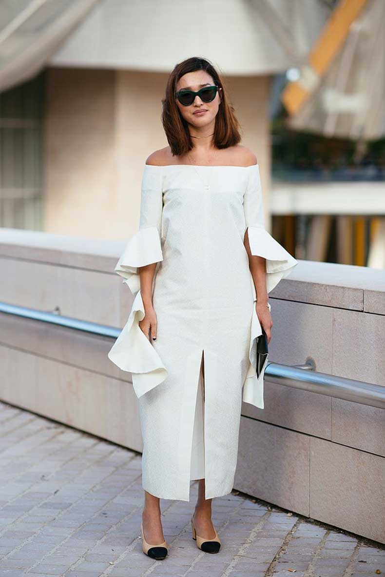 Nicole-Warne-finishing-touch-her-all-white-look-pair