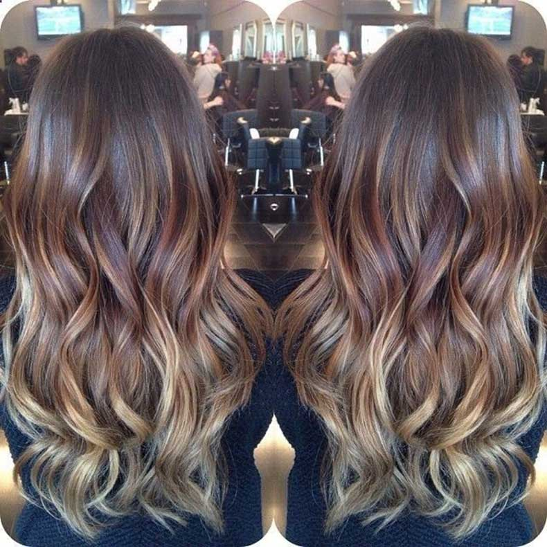 Subtle,Ombre,for,Brunette