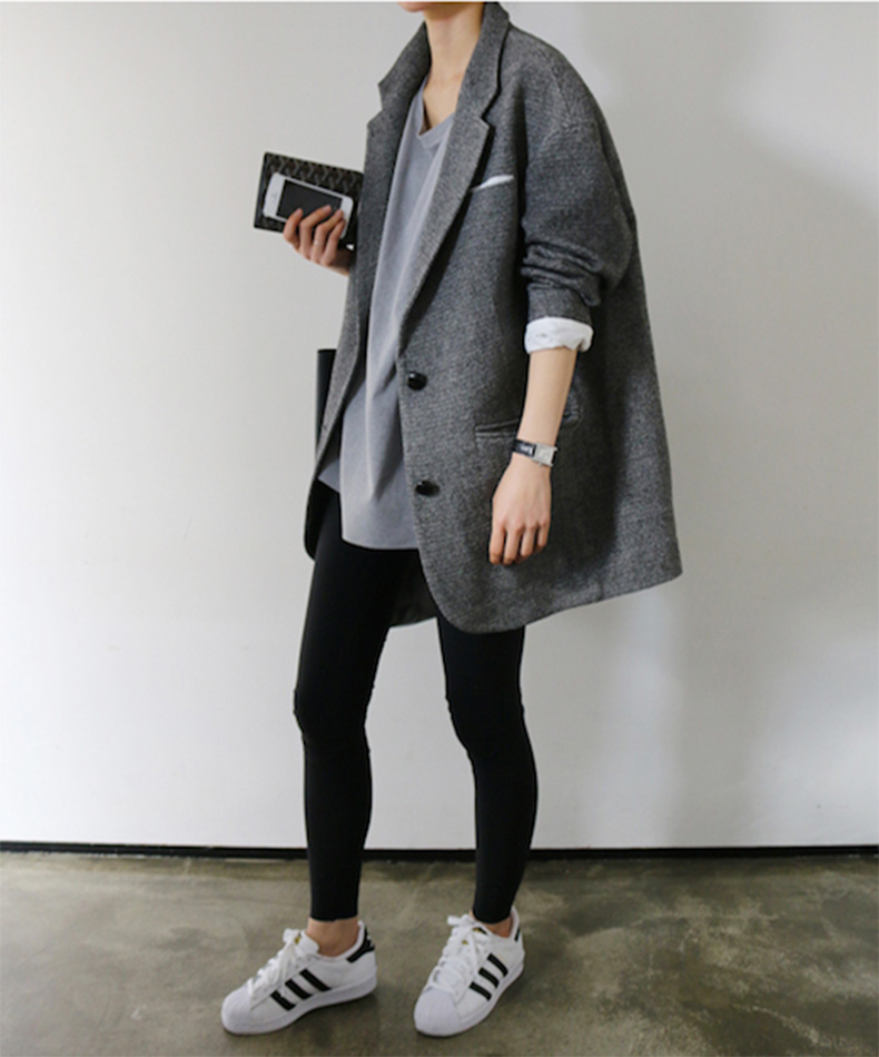 Le-Fashion-Blog-25-Ways-To-Wear-Adidas-Sneakers-Oversized-Coat-Black-Leggings-Superstar-Via-Death-By-Elocution