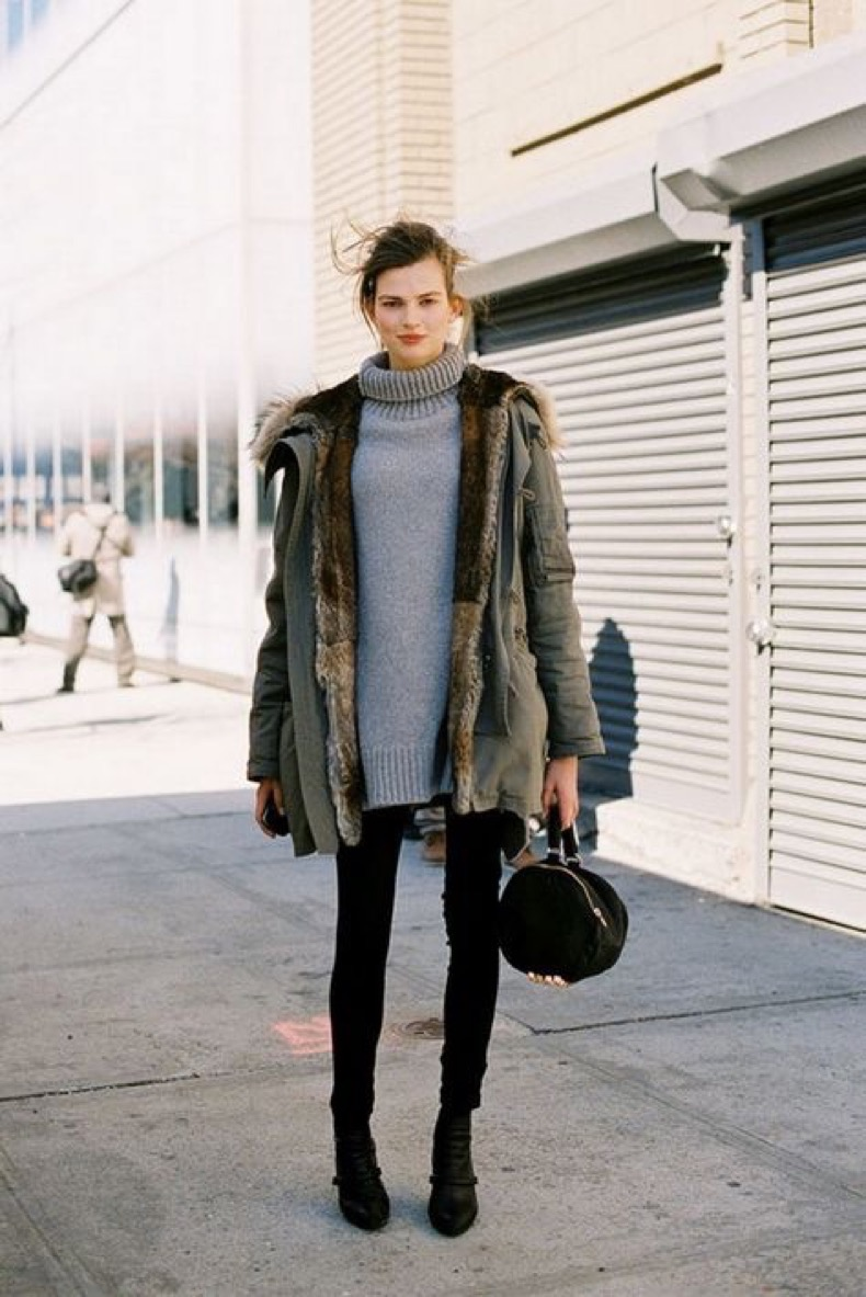 winter-parka-outerwear-coat-grey-turtleneck-sweater-black-skinnies-jeans-chelsea-boots-neutrals-fur-via-studded-hearts.com_