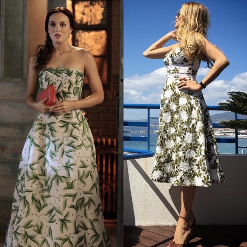 When-She-Proved-Leaf-Print-Pretty-Darn-Chic