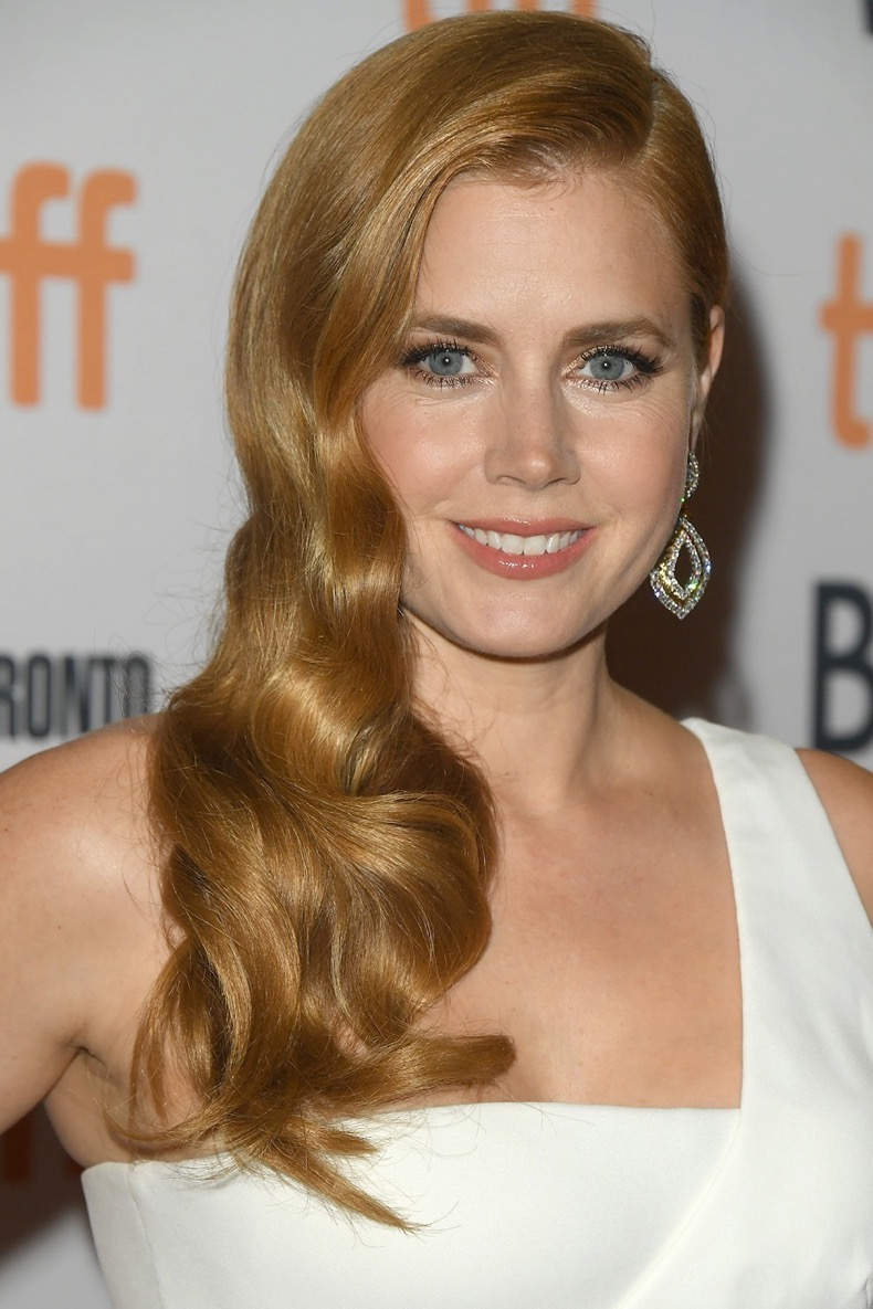 """TORONTO, ON - SEPTEMBER 11:  Actress Amy Adams attends the """"Nocturnal Animals"""" premiere during the 2016 Toronto International Film Festival at Princess of Wales Theatre on September 11, 2016 in Toronto, Canada.  (Photo by George Pimentel/WireImage)"""