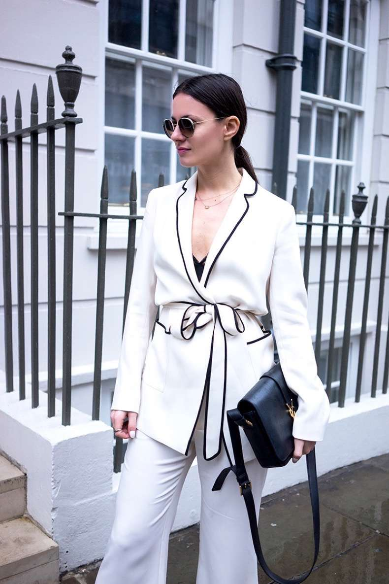 london-fashion-week-zara-pajama-suit-gucci-flats