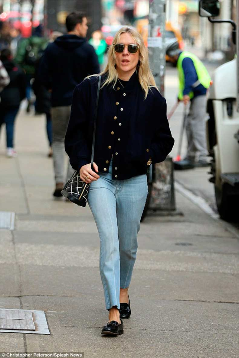 chloe-sevigny-buttoned-jacket-and-loafers