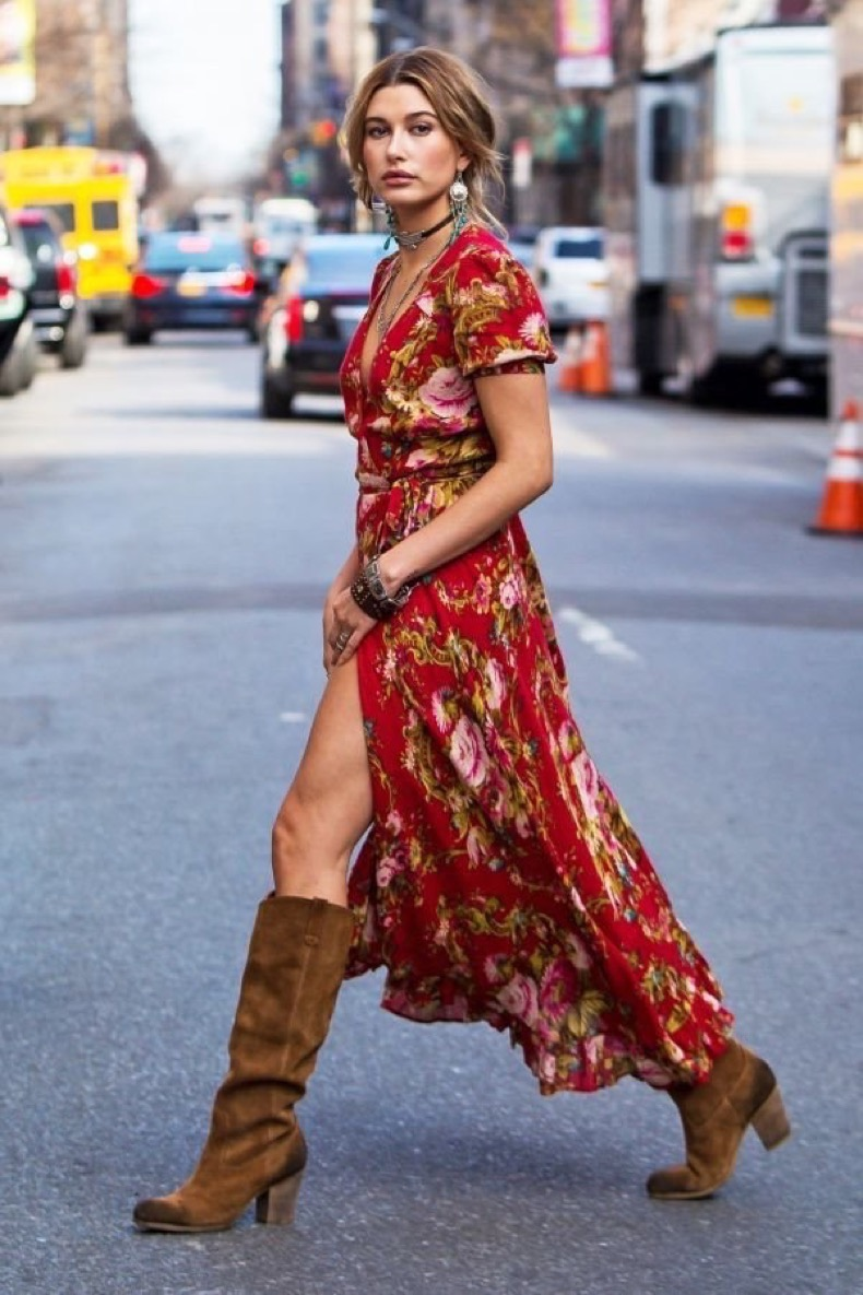how-to-wear-casual-long-maxi-dresses-streetstyle-2