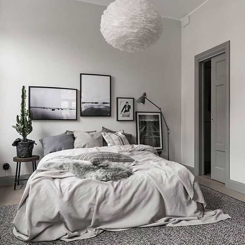 Simple Apartment Bedroom Decoration Pictures Of Bedroom Decor Wwe Bedroom Accessories Bedroom Curtains For White Walls: 14 Ideas Para Un Respaldo De Cama Diferente